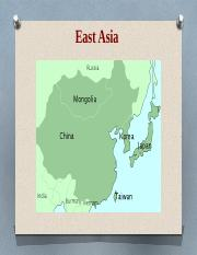 Week 1.1 Introduction to East Asia and the modern World