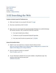 3.02 Searching the Web