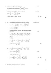 BINOMIAL THEOREM REVIEW SOLUTIONS