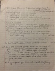 PSY 303 Midterm Review Notes