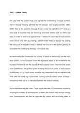 Part 2 - Lisbon Treaty - notes