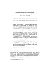 Token-Based Cloud Computing