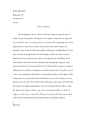 philosophy rawls paper