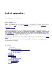 Judicial independence - Wikipedia.htm