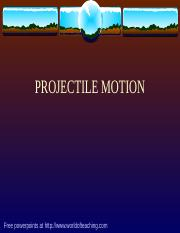 Projectile Motion.ppt
