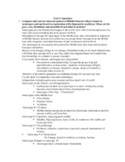 TRAD ISLAM Test 1 Study Guide (2)