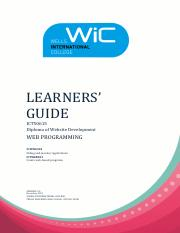 Learners Guide_Web Programming V3.0.pdf