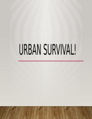 UrbanSurvivalProject- A - Copy.pptx