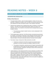 2014 11 05 Reading Notes – Week 8