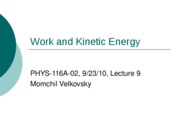 Work and Kinetic Energy-2