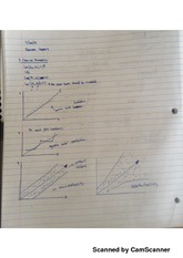 Econometrics Chapter #4 Classnotes