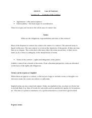 law of contract - lecture 10 - 14.11.13.docx