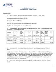 unit 1 business purposes assignment