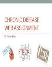 Chronic disease web assignment