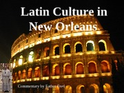 Latin Culture in New Orleans