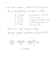 Math 172B Winter 2016 - Class 2 Notes Oil
