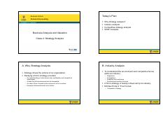 Class 2 Strategy Analysis 4slides