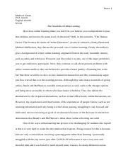 Modes Essay - The Human Factor.docx