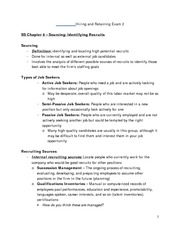Hiring and Retaining Exam 2