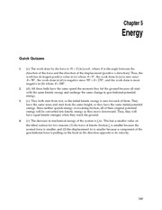 physics - ch 5 solutions