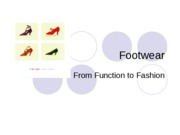 history of shoes -spring 2009
