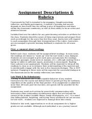 Assignment Descriptions and Rubrics (1).docx