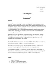 The Project ET3220