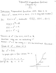 MATH 105 Fall 2014 Week 6 Notes
