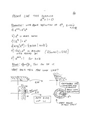 MTHE 326 Lecture 6 Notes