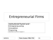 Entrepreneurial Firms Chapter 9 (1)