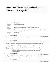 NURS 6521 Week 11 Quiz.docx