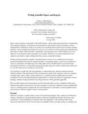 Writing_Scientific_Reports&Papers