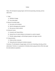 Writing an Impressive Outline Research Paper SlideShare good research paper topics for middle school