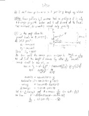 Homework Degree of A Polynomial