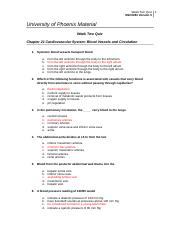 nsci 281 week 1 quiz Here is the best resource for homework help with nsci 281 : anatomy and phys ii at university of phoenix  week 1 quiz answer sheet  nsci-281 wk1 workbook the.