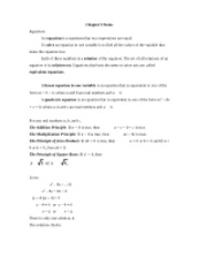 Chapter 5 Notes_MATH 101