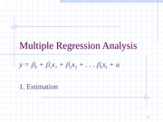 ch03 Multiple Regression Analysis