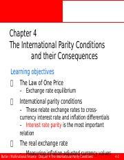 Ed6s 04 The international parity conditions and their consequences.pptx