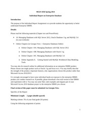 Individual_Report_on_Enterprise_Database_01062014