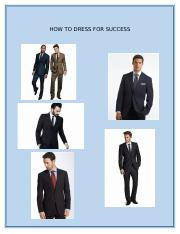 How to dress for success for men.docx