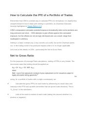 How to Calculate the PFE of a Portfolio of Trades.docx
