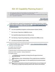 ISA 101 Capability Planning Exam 2 - Copy.pdf