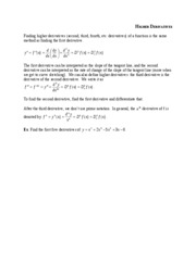 04Higher Derivatives