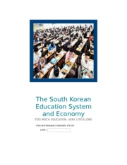 The South Korean Education System and Economy Essay.docx