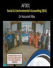 AF301 2018 Social and Environmental Accounting.ppt