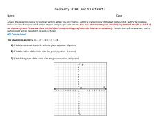 203B_Unit 4 Test_Part 2