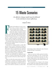 Article - 15 Waste Scenarios (Making Change Stick)
