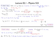 lecture 2.1 notes