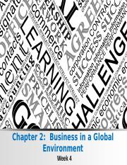 Week 4 Class Notes - Business in a Global Environment.ppt