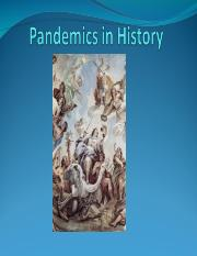 Lesson 11 - Pandemics in History.ppt
